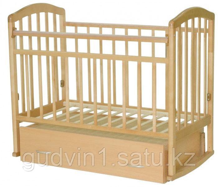 Детская кроватка Антел Алита 4 маятник поперечный, бук 00-47730