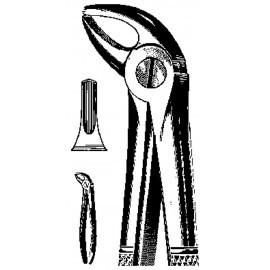 Набор хир. инструментов общего назначения: Щипцы стоматологические извлекающие №51А