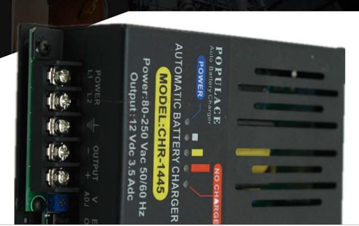 12 В 24 В автоматическое зарядное устройство 500ma CHR-1445