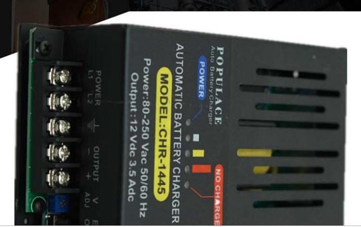 12 В 24 В автоматическое зарядное устройство 500ma CHR-1445, фото 2