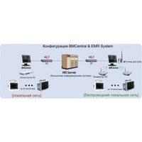 Центральная станция мониторинга к мониторам пациента серии BM, модели BM3, BM3-plus и BM5