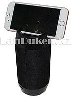 Колонка беспроводная Bluetooth держатель телефона (черная) Q300