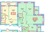 1 комнатная квартира в ЖК Томирис  40.98 м², фото 1
