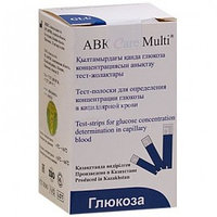 Тест полоски глюкозы для ABK Care Multi №50