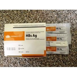 Экспресс тест для определения поверхностного антигена вируса гепатита В (HBsAg)