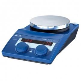 Мешалка магнитная RCT basic с подогревом, скорость до 1500 об/мин, t-до 310°С, объем перемешиваемый - 20л