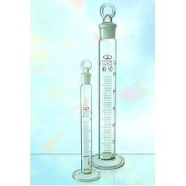 Цилиндр 2 мерный со стеклянной пробкой 2-100-2