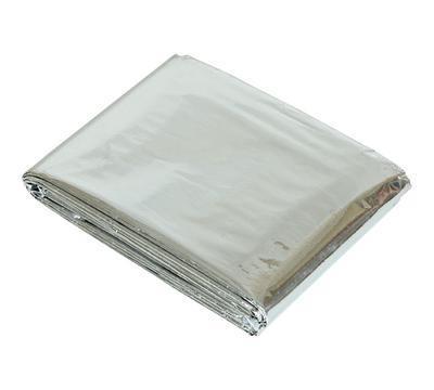 Спасательное одеяло из фольги (золото/серебро)