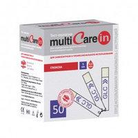 Тест-полоски глюкозы для MultiCareIN №50