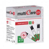 Тест-полоски холестерина для MultiCareIN №25