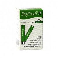 Тест-полоски EasyTouch® для определения глюкозы в крови (25 тест полосок)