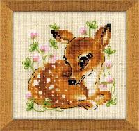 """Набор для вышивания крестом """"Маленький олень"""", фото 1"""