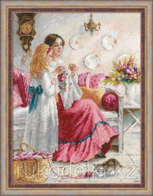 """Набор для вышивания крестом """"Первые уроки вышивки"""""""