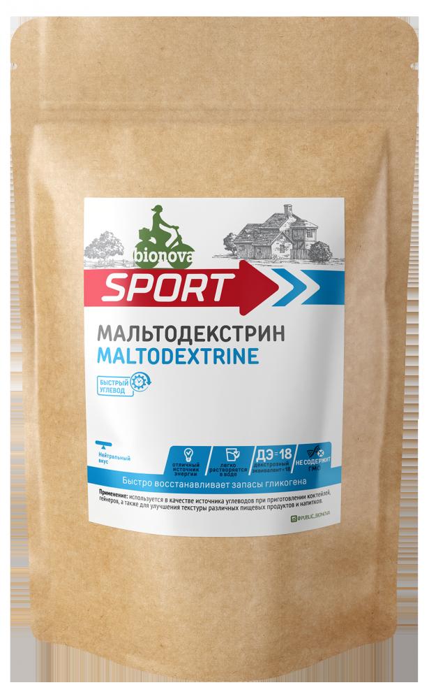 Мальтодекстрин Bionova® 500гр