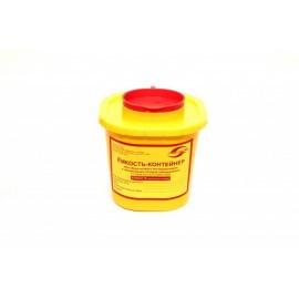 Емкость-контейнер для сбора острого инструмента емк. 1.0 л