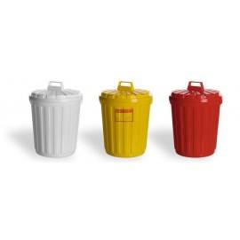 Бак пластиковый Вместимость 65 литров (белый, желтый)