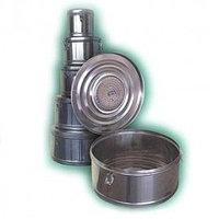 Коробка стерилизационная круглая с фильтром бикс КСКФ-6