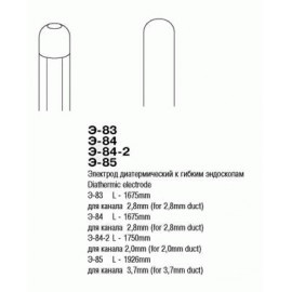 Э-83 Электрод диатермический