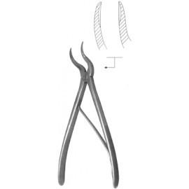 Кусачки костные для операций на позвоночнике с двойным изгибом Щ-63