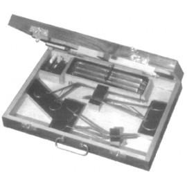 Набор инструментов для наложения и снятия клипс на сосуды мозга