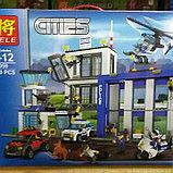 Конструктор Bela 10424 LELE City Полицейский участок 39059 (Аналог LEGO City 60047) 890 дет., фото 6