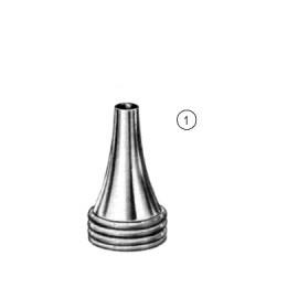 Воронка ушная никелированная, №2