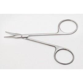 Ножницы глазные для снятия швов остроконечные, прямые, 110 мм (Н-56)