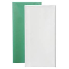 Клеенка подкладная с ПВХ покрытием1,0 м х 50 м - цвет: зелёный