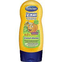"""Bubchen  Шампунь """"Спелый Абрикос""""  для мытья волос и тела для детей  230мл"""
