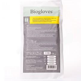 Перчатки латекс смотр нестер текстур размер L неопудр г/аллерг BioglovesPF