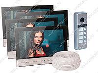 Видеодомофон на 4 квартиры