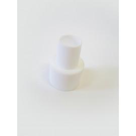 Адаптер из фторопласта для одноразовых мундштуков (загубников) к сухому спирометру ССП
