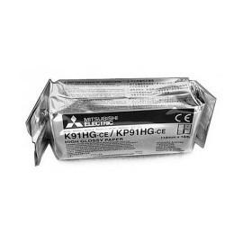 Стандартная (оригинальная) рулонная термобумага K91HG-ce/KP91HG-ce для видеопринтеров