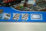 Конструктор Lepin 02039 Красный груз поезд аналог лего Lego City 3677, фото 6