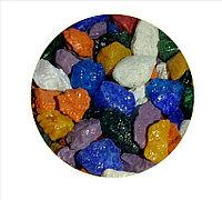 Цветная мраморная крошка 5-10 мм МИКС (блестящая)