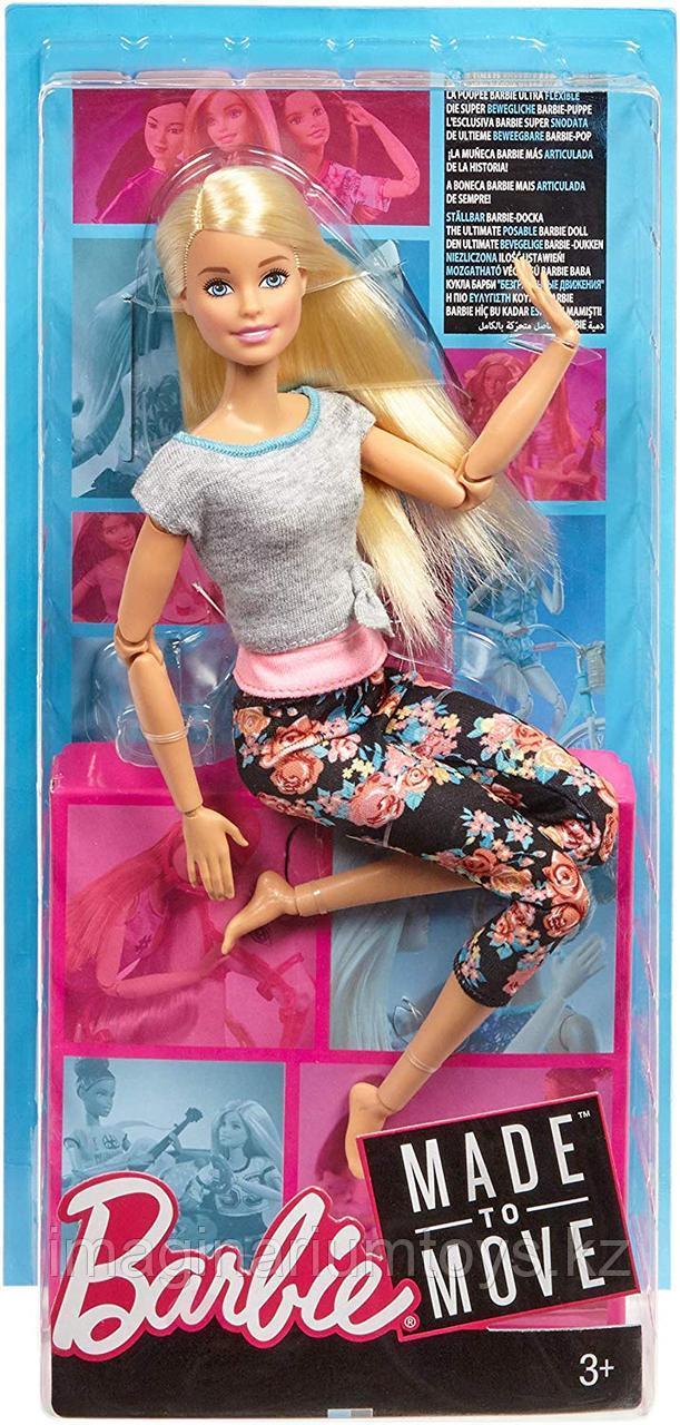 Кукла Barbie Made to move Йога блондинка полная подвижность - фото 2