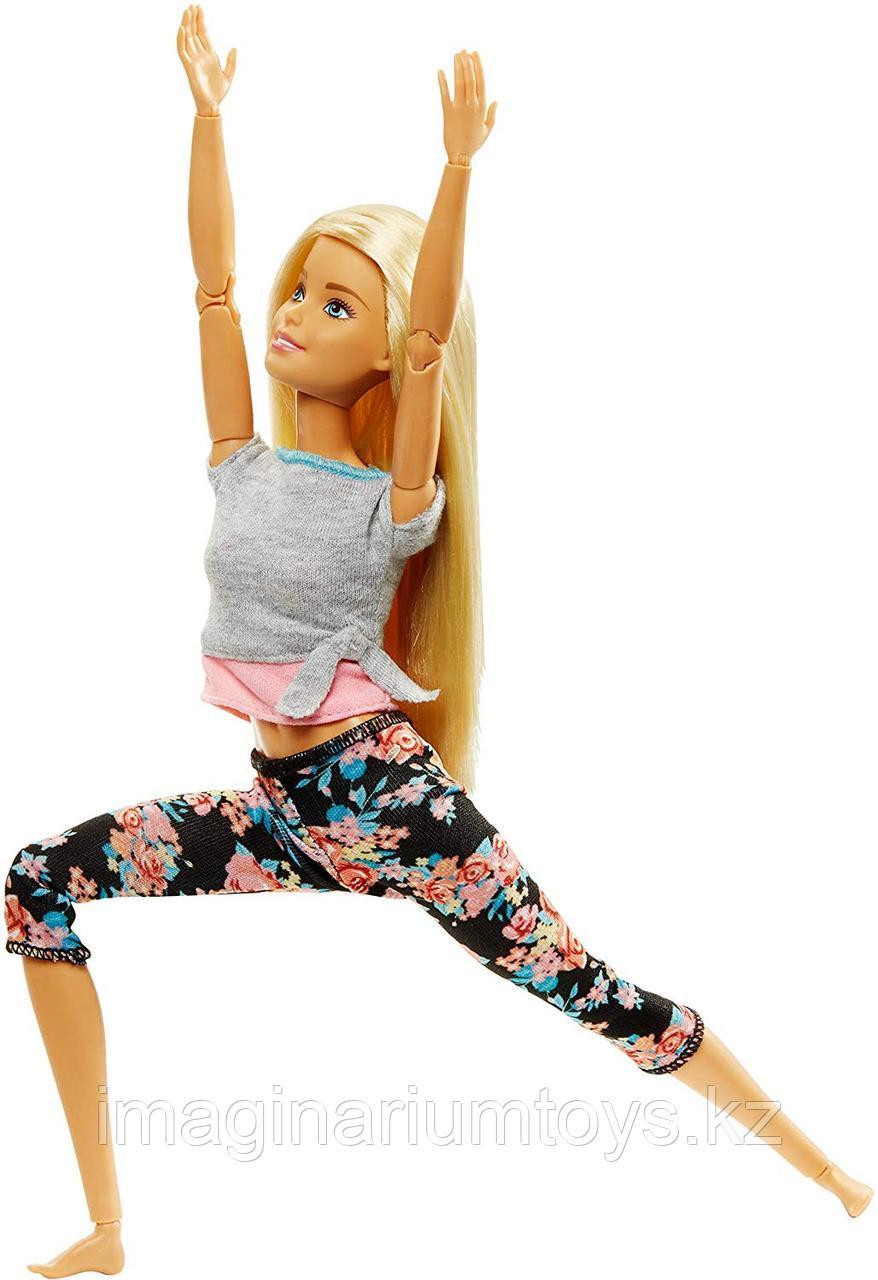 Кукла Barbie Made to move Йога блондинка полная подвижность - фото 1