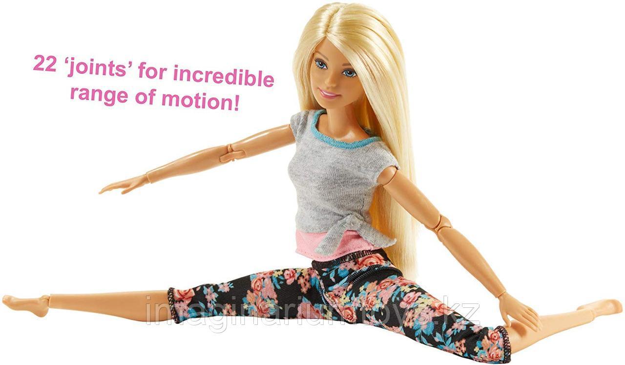 Кукла Barbie Made to move Йога блондинка полная подвижность - фото 4