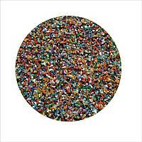 Цветной песок 0,5-1 мм МИКС (блестящий)