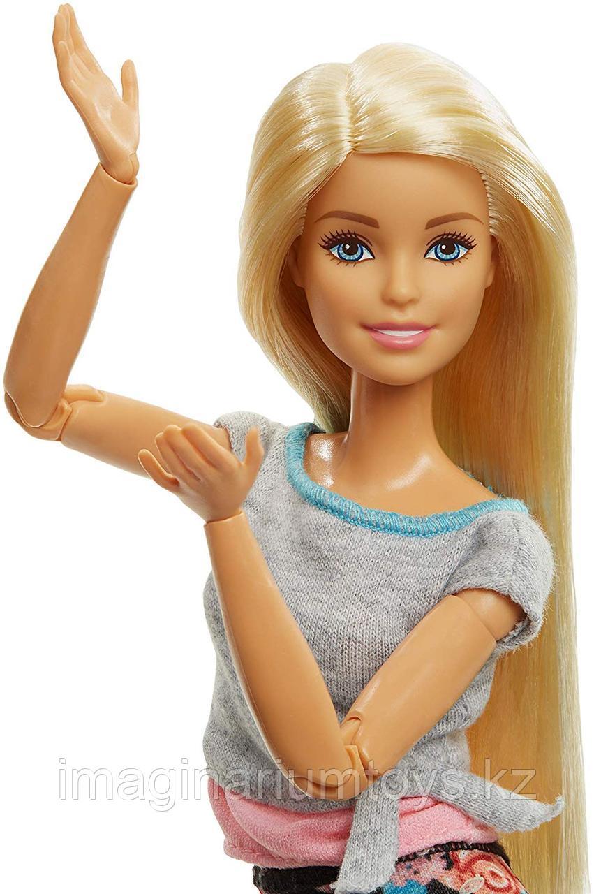 Кукла Barbie Made to move Йога блондинка полная подвижность - фото 6