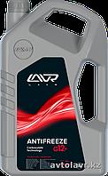 Охлаждающая жидкость антифриз ANTIFREEZE LAVR -45°С (G12+) CARBOXYLATE TECHNOLOGY 5 кг (красный)