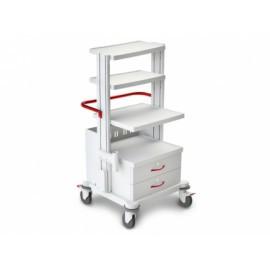 Тележка медицинская многофункциональная ТМ-9