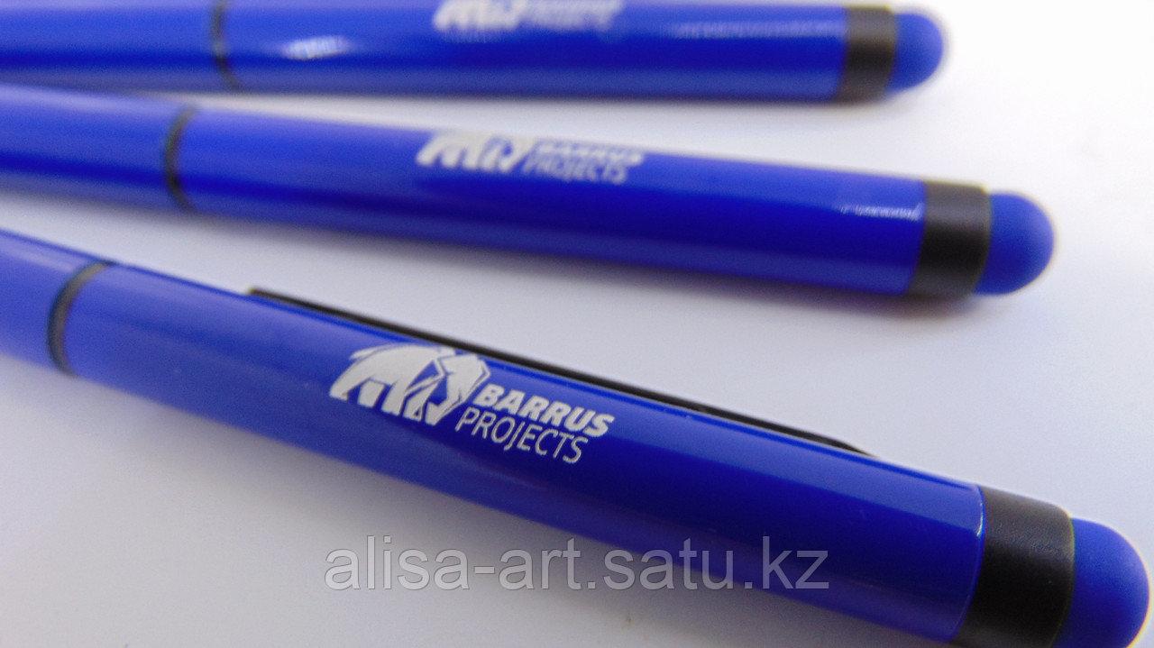 Нанесение логотипа на ручки - фото 1