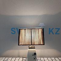 Черно-белая лампа с подвижным абажуром, фото 1