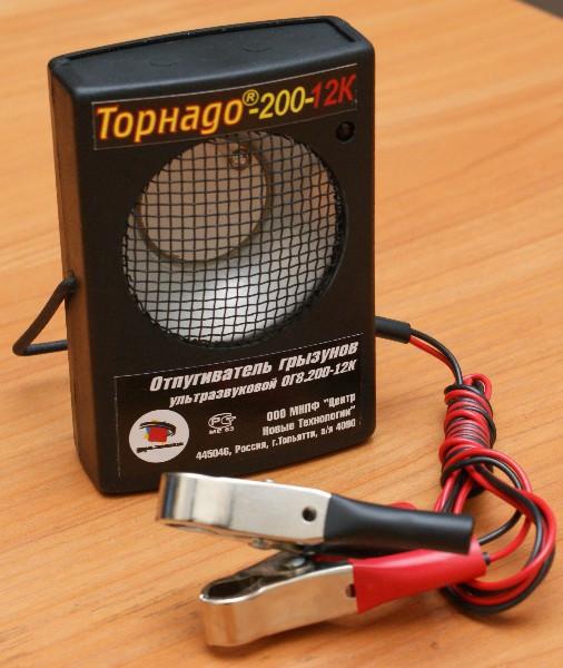 Отпугиватель крыс, мышей ТОРНАДО-200-12К