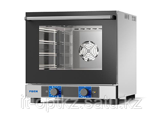 Печь конвекционная PIRON PF5804 (4 противня 442х325, 2,8 кВт, 550x600x540) духовка нерж.