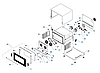 Печь конвекционная PIRON PF7604 (4 GN1/1 или 600х400, 6,5кВт, увлаж.750x720x540), фото 2