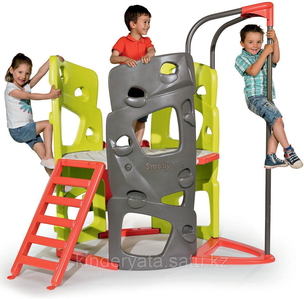 Игровой комплекс башня с горкой Smoby 840201
