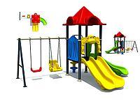Детский спортивно-игровой комплекс Огонек