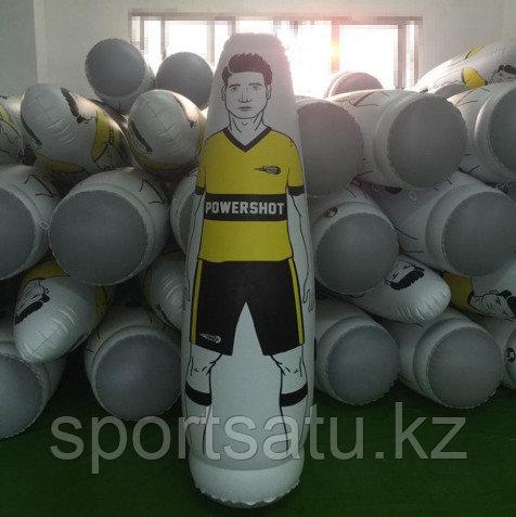 Надувной манекен футбольный тренировочный